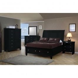 Coaster Furniture Sandy Beach Collection California King Master Bedroom Bed 201329KW