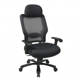 Office Star Space Seating Chair Black 63-37A773HM