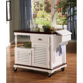 Coaster Furniture Kitchen Carts Collection Dinettes Kitchen Island 910013