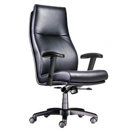 High Back Executive Chair, Via Seating Linate 5503