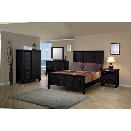 Coaster Furniture Sandy Beach Collection King Master Bedroom Bed 201321ke