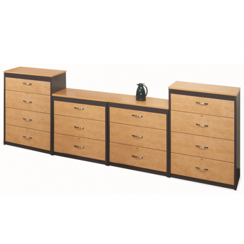 laminate wood lateral file cabinet 3 drawer and four drawer