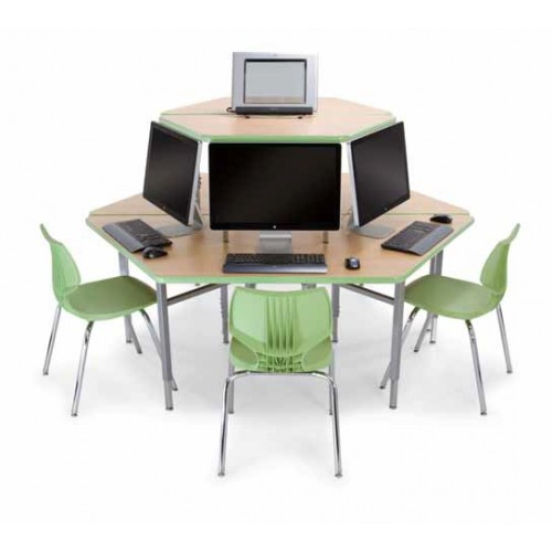 Superior Student Trapezoid Cluster Computer Workstation
