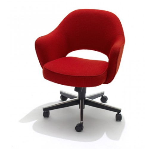 knoll saarinen executive conference arm chair