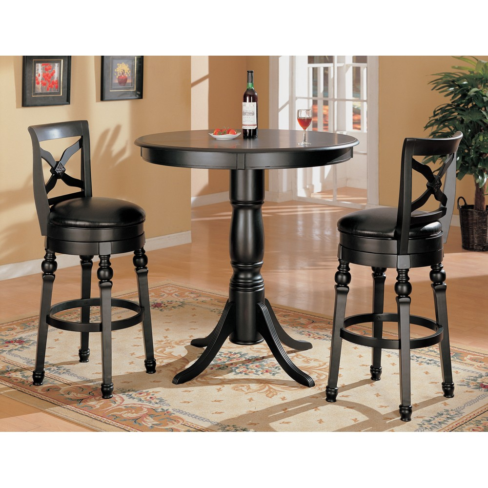 Counter Height Office Table : Coaster Furniture Counter Height Bar Table 100278
