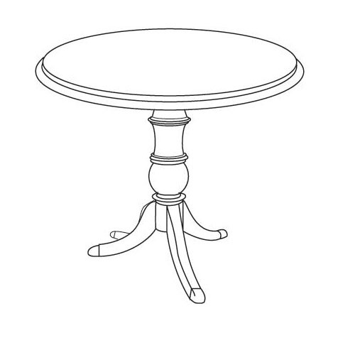 High Point Furniture Inch Round Traditional Conference Table LPMTR - 36 inch round conference table