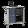 Datum Mobile Cart, Multiple Laptop Storage Unit